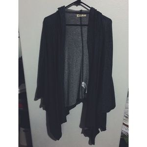 Hollister oversize kimono style cover up