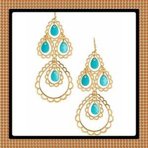 Jewelry - 🎄New Beautiful Open Filigree Drop Earrings.
