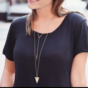 Jewelry - SHIPS NOW! Gold arrow long necklace statement