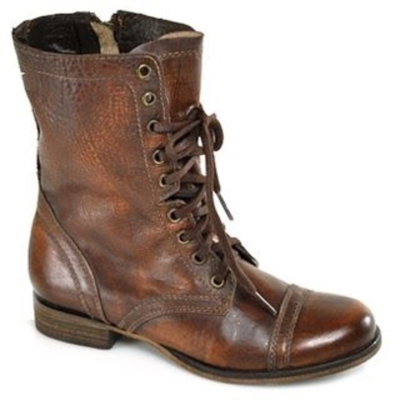 40 steve madden shoes steve madden brown combat