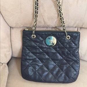 Women's Dkny Quilted Leather Handbag on Poshmark