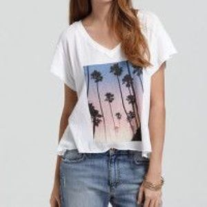PRICE FIRM Wildfox Palm Tree top
