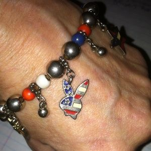 Jewelry - Playboy Bracelet Makes A Splendid Gift! Bottom $