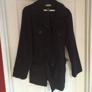 Jackets & Blazers - Old navy dark gray wool jacket-worn once
