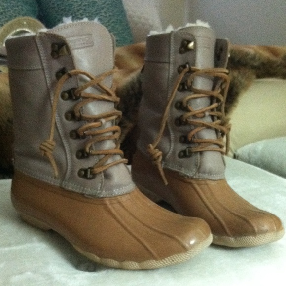 Sperry Topsider Fleece Lined Duck Boots