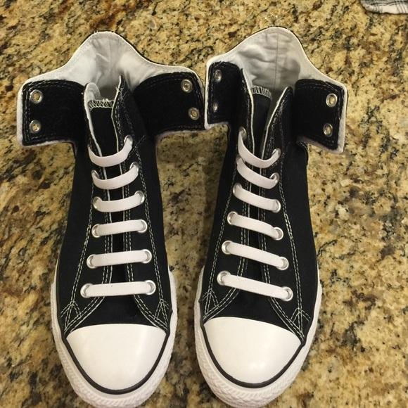 grote korting beste schoenen geen verkoopbelasting No Lace Converse High Tops