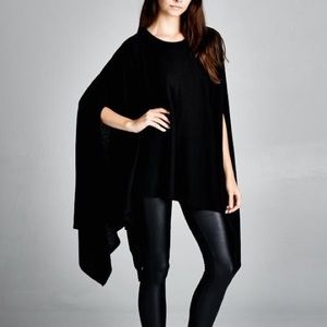 "Bare Anthology Tops - ""Memento"" Loose Poncho Tunic Top"