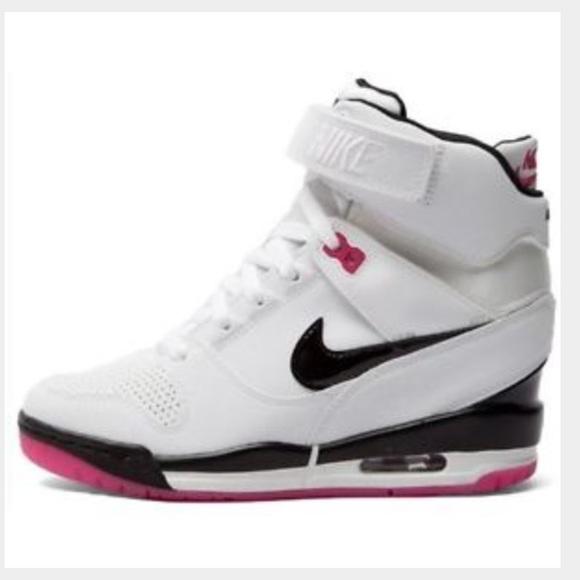 Nike Air Revolution Sky Hi WhiteFireberry 7.5