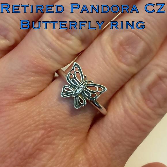 ce97a2eb0 Pandora RETIRED Love Takes Flight Butterfly Ring. M_5644b5017e7ef6d5fb006b5f