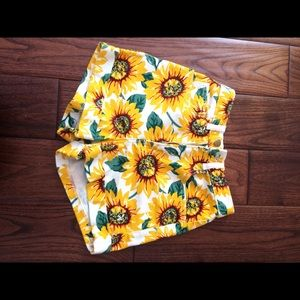 American apparel sunflower shorts