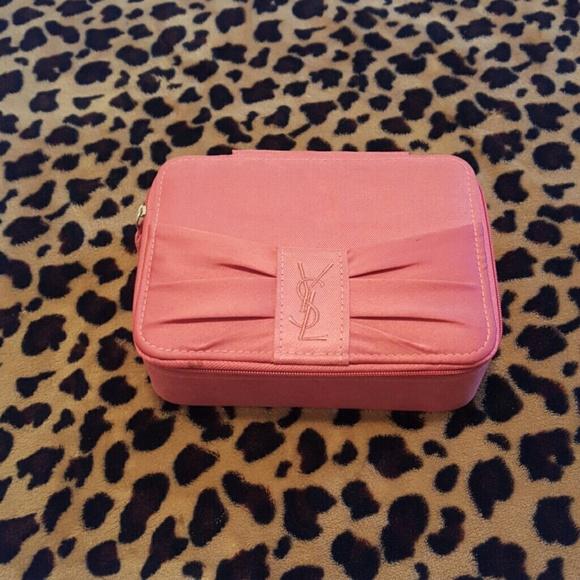 Yves Saint Laurent Accessories   Ysl Vintage Parfum Cosmetic Case ... b186659e0e