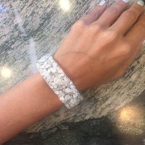 "Lauren Vidal Jewelry - Lauren Vidal ""diamond"" mesh bracelet"