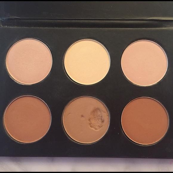 mac contour kit. mac cosmetics accessories - pure contour kit mac