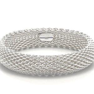 Listing Soldtiffany Somerset Mesh Bracelet 5644d58efeba1f5826007950 Tiffany And Co Australia