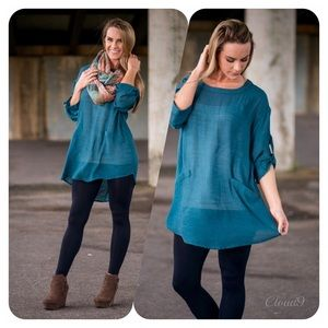 Cloud 9 Tops - 🍁Gorgeous Jades Envy Tunic Top