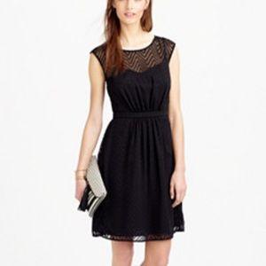 J. Crew Dresses & Skirts - j. Crew ZIG ZAG dress black dress petite size 4P
