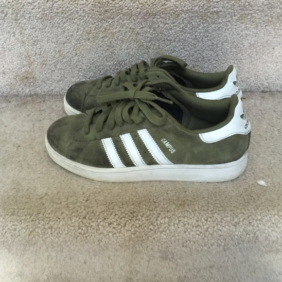 Adidas Shoes - Adidas campus Olive e7cafab64