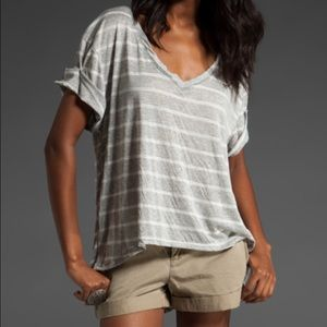 FREE PEOPLE TEE HARLEY HI LOW