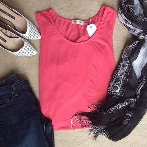 Boutique Sweaters - 🎉Host Pick🎉 High-Low Pink Light Weight Sweater