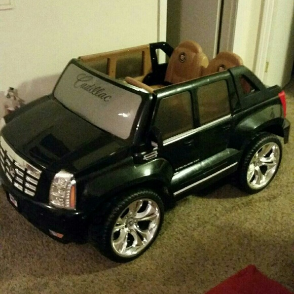 other black power wheels escalade poshmark black power wheels escalade