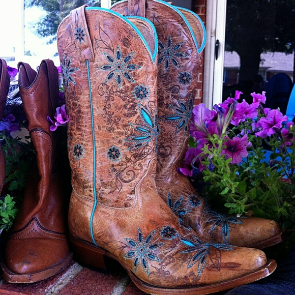 03a6ec980 Gorgeous Shyanne Daisy Mae Western Boots! 7 71/2. M_5644fdd6713fde358d000c05