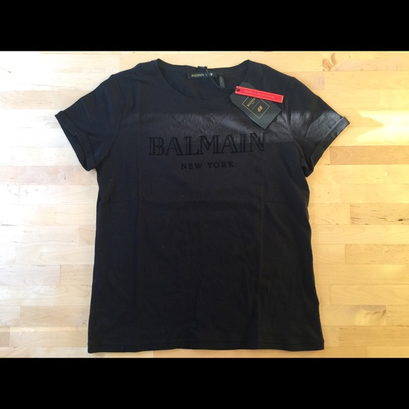 f53a0d36ed878 Balmain X H M Women s Medium T-Shirt