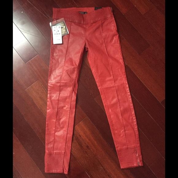 f64c1a92fc8a0 Zara Pants | Women Faux Leather | Poshmark