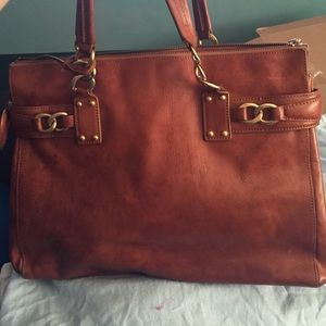 Juicy Couture Handbags - Juicy couture brow leather bag