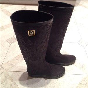 Shoes - Victoria Secret Rainboots. Size 6. Limited Edition