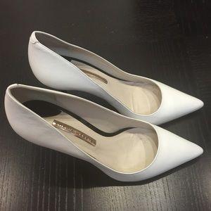 Sophia Webster white pumps