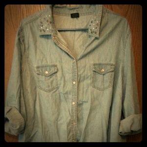 Light weight demin shirt