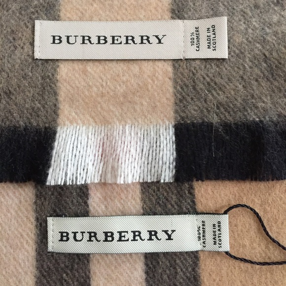 Burberry Accessories Authentic Vs Fake Educate Yourself