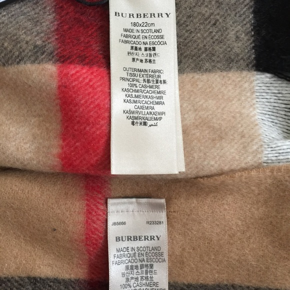 Burberry Authentic Burberry Vs Fake Educate Yourself