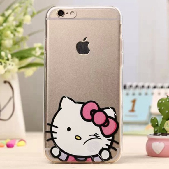 best service 5a571 009a3 Hello Kitty iPhone 6 Plus / 6s Plus Clear Case