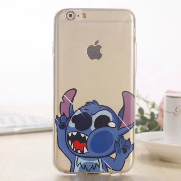 best sneakers c74a0 02a3f Stitch iPhone 6 Plus / 6s Plus Clear Case