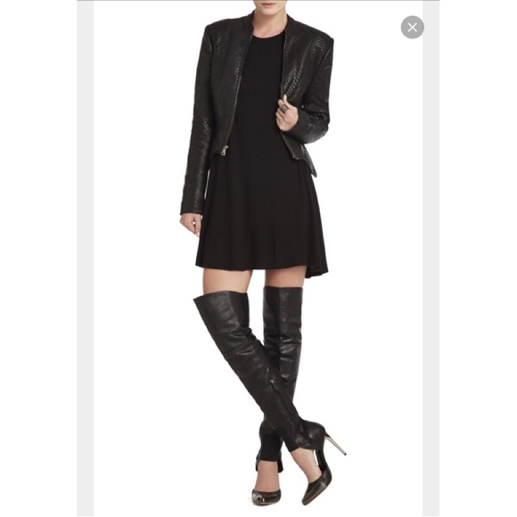 33% off BCBGMaxAzria Shoes - BCBG MAXAZRIA THIGH HIGH RUNWAY BOOT ...