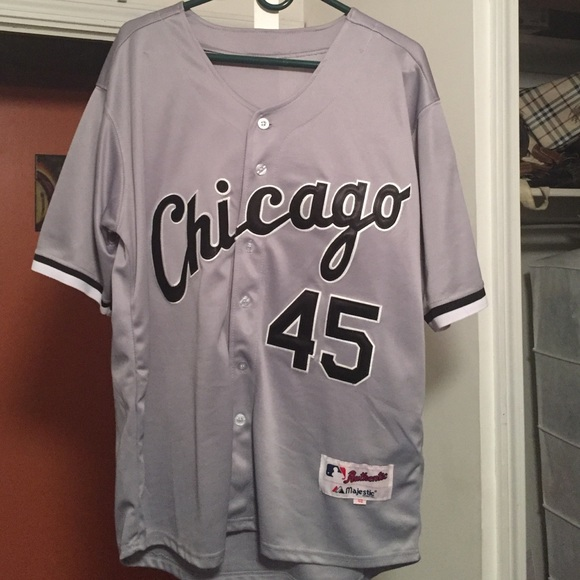 best authentic d17e5 54e78 Jordan Chicago White Sox Jersey