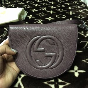 ce2fd60acc06 Gucci Accessories | Authentic Kids Soho Leather Messenger Bag | Poshmark