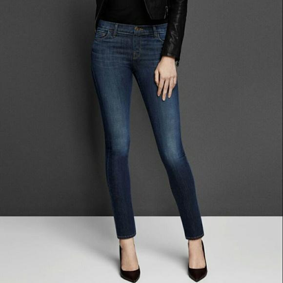 60c20e25bdf J Brand 811 Storm Mid Rise Skinny Leg Jeans