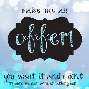 Make me offer!🎉🎉🎉