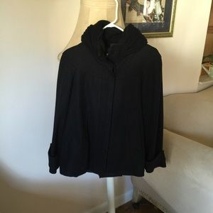 Zara Jackets & Blazers - Zara Basic black coat