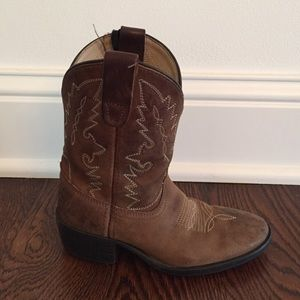 Other - Kids brown cowboy boots size 11.5