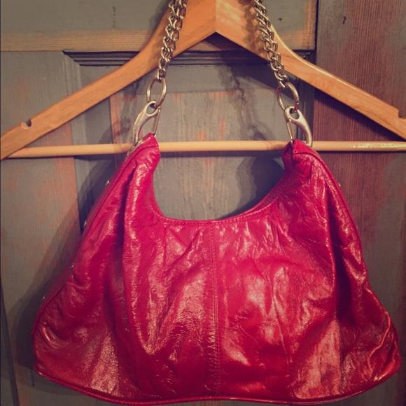 Armani Exchange Bags   Red Leather Purse   Poshmark 76ec8ee5f7