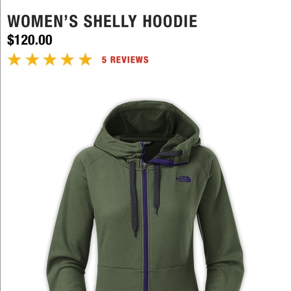 bf7e79469 The north face Shelly hoodie. Brand new!