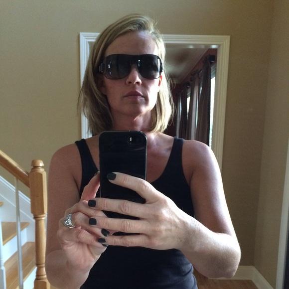 3b4f4d7bf4 VERSACE shield sunglasses. M 567bf779c6c795b1aa000576