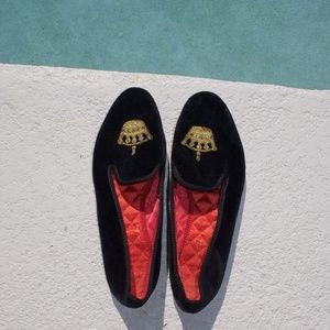 c4e6ee2196d36 Brooks Brothers Shoes - Brooks Brothers Men s Velvet Crown Slippers