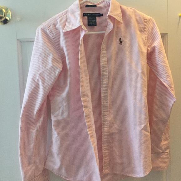 619bbf79 Ralph Lauren Tops | Womens Oxford Shirt | Poshmark