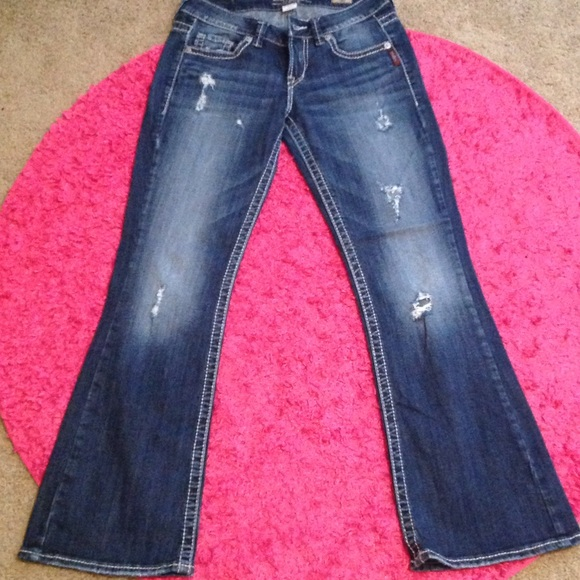 Silver Jeans - Lola Flare Silver Jeans from Dani's closet on Poshmark
