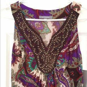 NY Collection Dresses - NWT Beautiful Paisley Maxi Dress