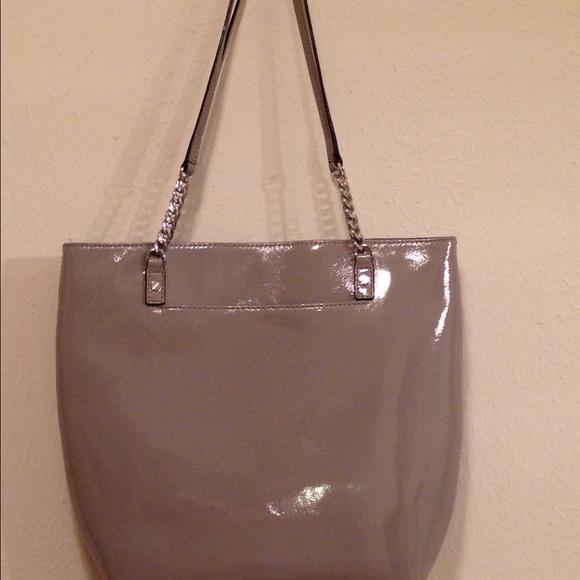 1bc8420e7e58 Michael Kors Bags   Patent Leather Jet Set Shopper   Poshmark
